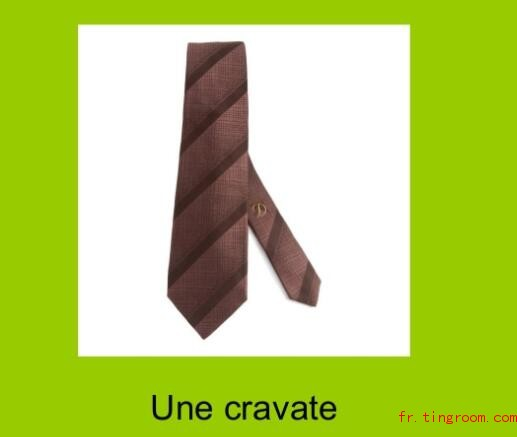 une cravate
