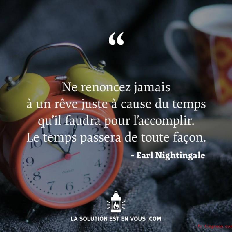Le temps passera toute façon