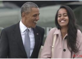 """丹麦语泛读之新闻:奥巴马女儿上哈佛大学前,选择一年""""间隔年"""""""