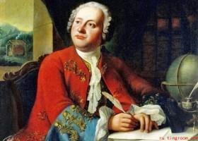 画家罗蒙诺索夫和《波尔塔瓦战役》