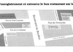 法语DELF考试全攻略A1 et A2-Identifier un lieu un itinéraire5