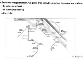 法语DELF考试全攻略A1 et A2-Identifier un lieu un itinéraire6