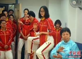 زيارة الأولمبيين الصينيين إلى ماكاو