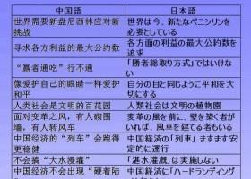 中国時事用語集(中日対訳)33