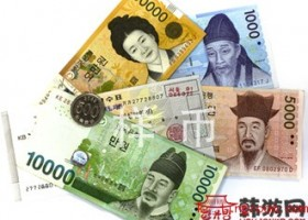 韩币100元