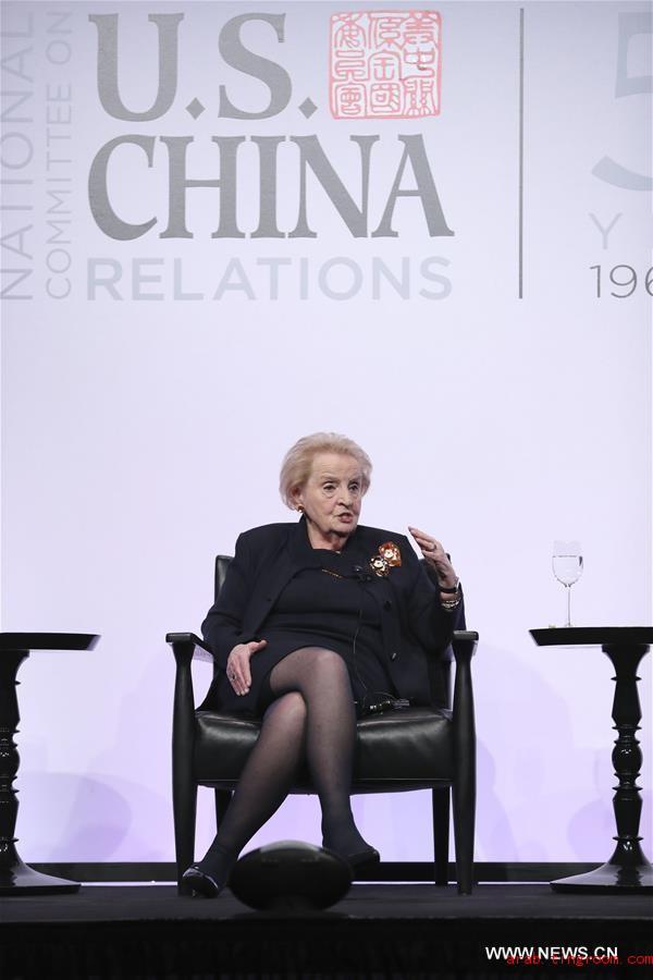 وزيران سابقان للخارجية الأمريكية: على الولايات المتحدة والصين أن تجمعهما علاقات ودية ووثيقة