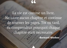 【法语美图美句】La vie est comme un livre