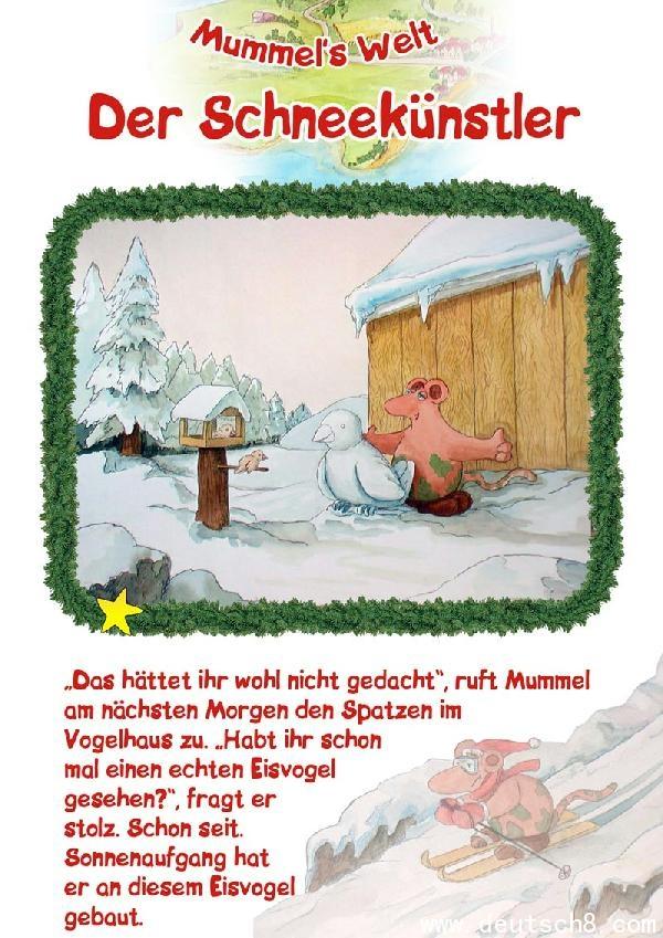 Manfred Kapmeyer: Mummel's Welt Der Schneekünstler