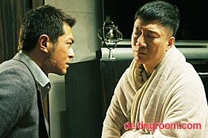 """Gangster und Cop, auf ewig Feind, aber in Johnnie Tos meisterlichem Thriller """"Drug War"""" doch phasenweise geeint: Sun Honglei (re.) und Louis Koo."""