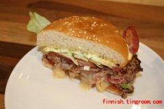 主食:Amerikkalainen hampurilainen