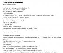 法语交际口语渐进(初级):九 demander des renseigneme