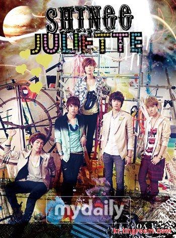SHINee日本推出第二张单曲碟 夺公信榜冠军