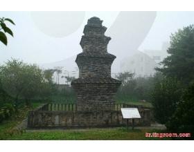 韩国旅游景点之文物五层塔