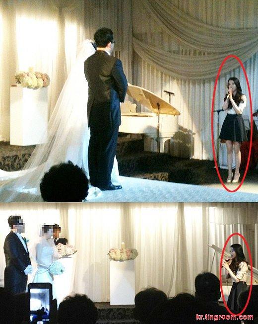 韩国国民妹妹IU获邀做婚礼歌手。