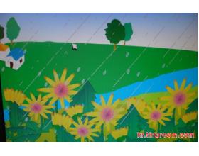 韩语诗歌:春雨 봄비